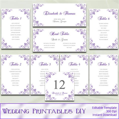 seating chart template wedding wedding seating plan template word mini bridal