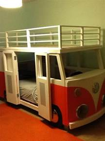 Vw Bus Bed Vw Bus Bunk Bed Dub Pinterest Buses Sleep And Awesome