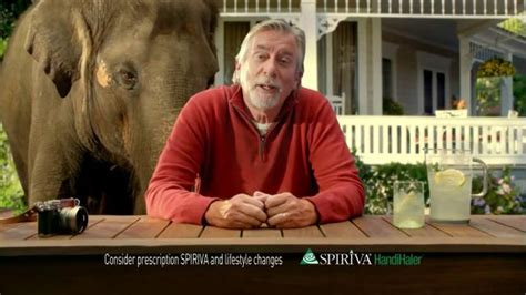 spiriva commercial elephant actress copd commercial with elephant spiriva tv commercial for