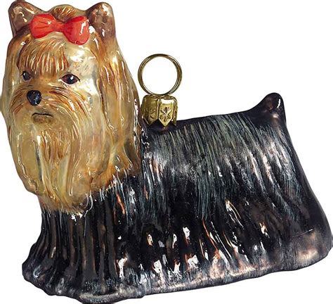 yorkie ornaments terrier ornament