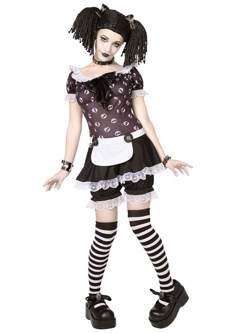 gothic costumes adult sexy gothic halloween costume gothic rag doll costume