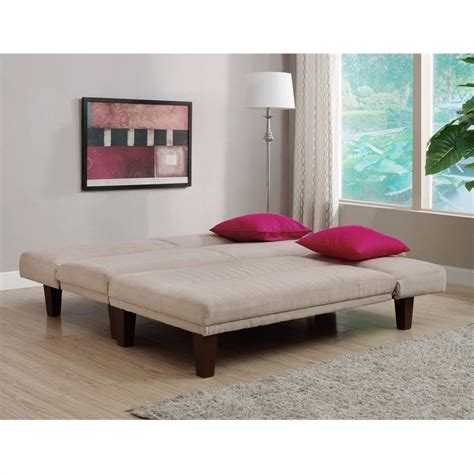 dillan chaise dhp dillan upholstered chaise lounge in tan microfiber