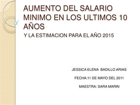 aumento en los salarios en los privados en uruguay aumento del salario minimo en los ultimos 10 a 241 os
