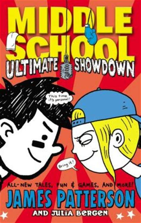 biography book for middle school james patterson ultimate showdown