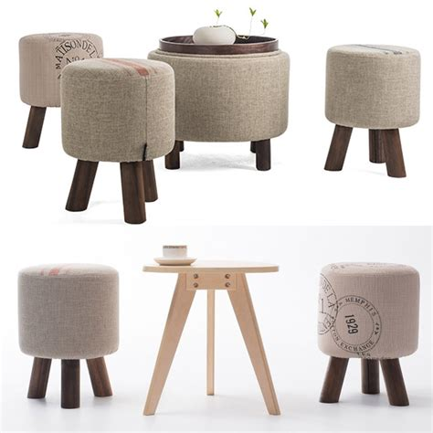Ottoman Stool Furniture by Wooden Furniture Fashion Shoes Stool Wood Ottoman Stool