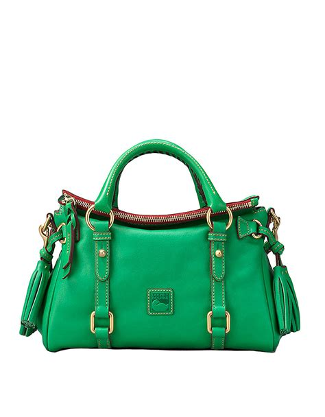 Dooney Bourke Ebelle5 Designer Dooney And Bourke Mini Handbag And Organizer Giveaway by Dooney Bourke Florentine Leather Mini Satchel Bag In