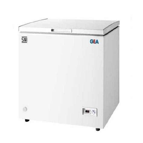 Freezer 100l Modena Harga harga jual gea ab 100 chest freezer 100l putih sejuk