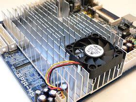 Rak Komponen Elektro heatsink pendingin belajar service