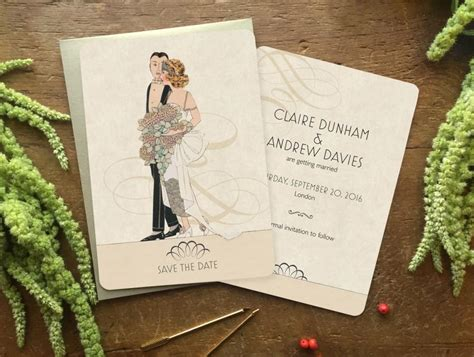 Postcard Style Save The Dates vintage style save the date save the date postcard save