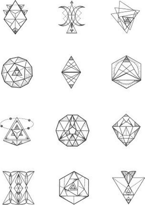 best 25 small geometric tattoo ideas on pinterest