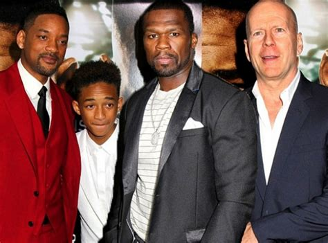 Will Smith Set Bruce Willis by Every Time 50 Uploads A Photo To Instagram His Friends
