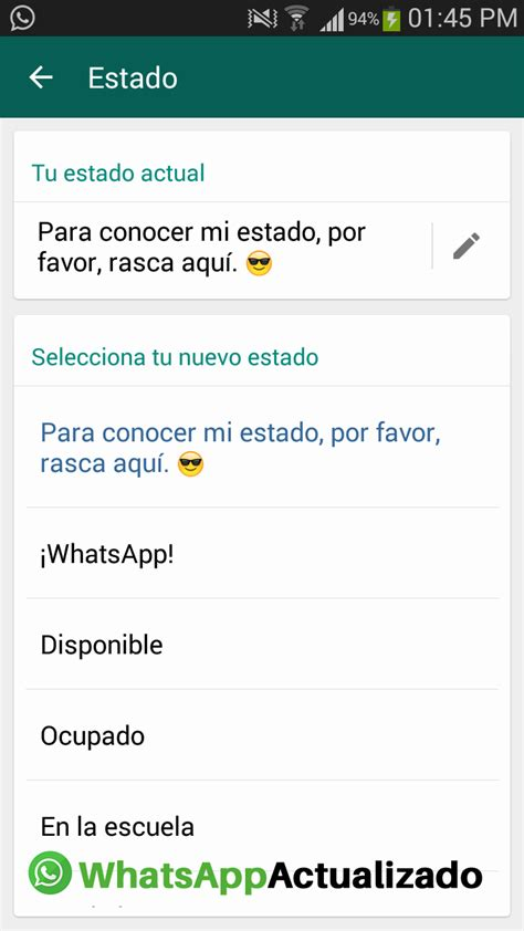 estado tu novia wasp regresan las frases a los estados de whatsapp segundo a