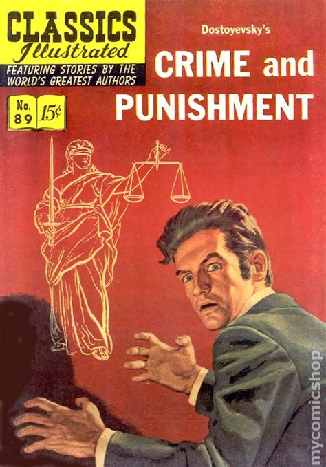 crimes and books classics illustrated 089 crime and 1951 comic