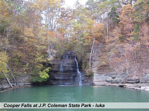 the boat gallery columbus mississippi cooper falls at j p coleman state park iuka tishomingo