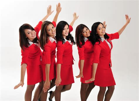airasia uniform airasia flight attendant uniform pramugari