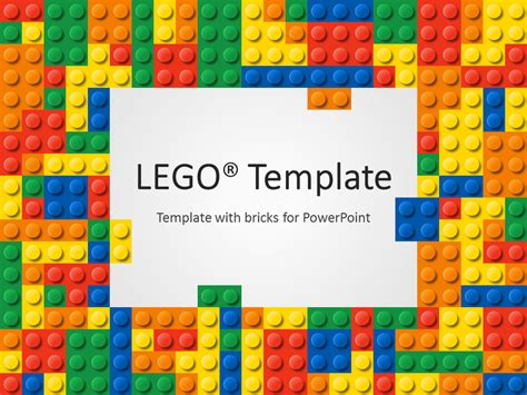 theme powerpoint lego lego powerpoint template