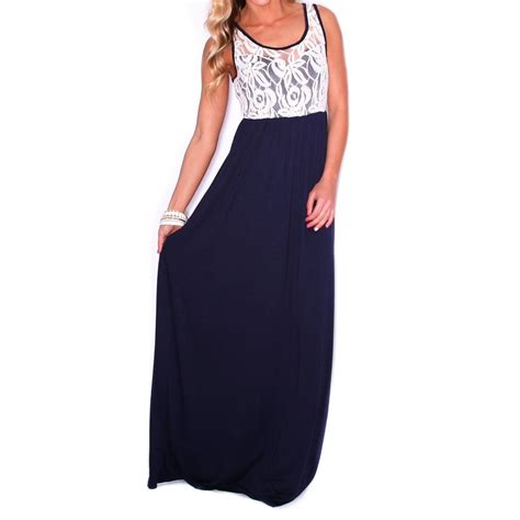 Maxi Tiesquare lace is more maxi navy impressions boutique