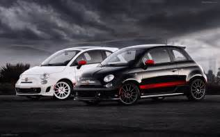 Fiat 500 Sport Vs Abarth Fiat 500 Abarth 2012 Widescreen Car Wallpaper 15