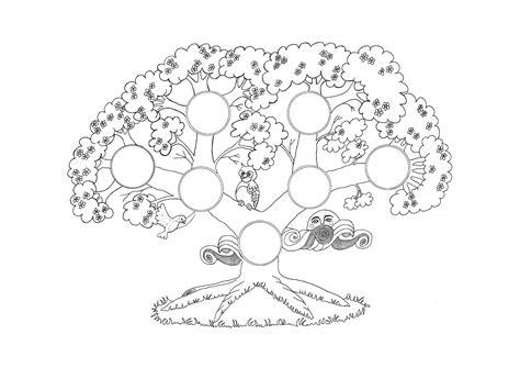 imagenes reales comicas dibujos de 225 rboles genealogicos para colorear imagui