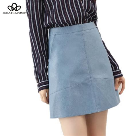 buy wholesale faux leather skirt from china faux