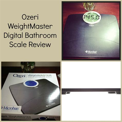 ozeri weightmaster digital bathroom scale review