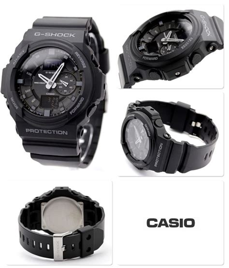 G Shock Ga 150 Black buy casio g shock x large matte black analog digital