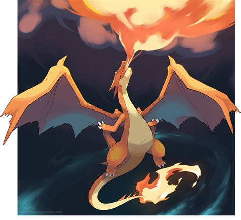 Charizard Y Drawing by Mega Charizard Y The Rise Of Lizardon By Nganlamsong On
