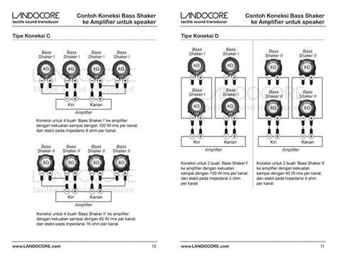 Landocore Bass Shaker I product manual landocore bass shaker indonesia