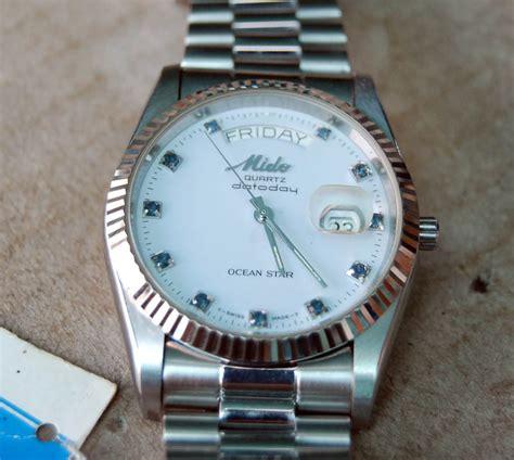 Jam Tangan Mido Quartz jam tangan 4 u nos midoocean datoday quartz