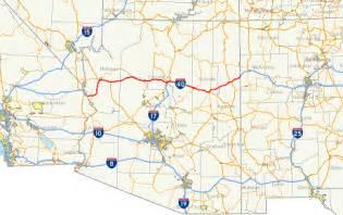 highway i 40 arizona exits summary