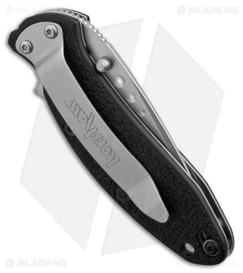 kershaw 1620 scallion kershaw scallion assisted opening knife black gfn 2 25
