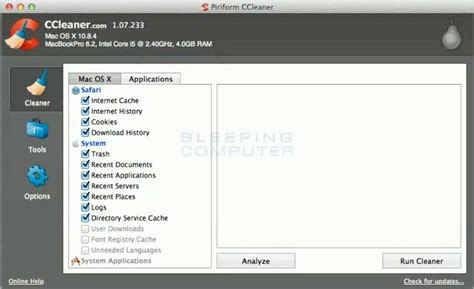 ccleaner not opening download ccleaner for mac