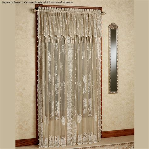 drapes with valance curtains with valance idea for you home