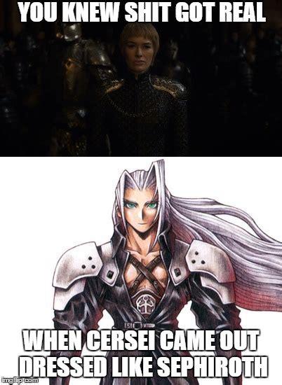 Sephiroth Meme - sephiroth imgflip