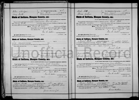 Indiana Marriage Records Free Genealogy 101 14 Marriage Licenses