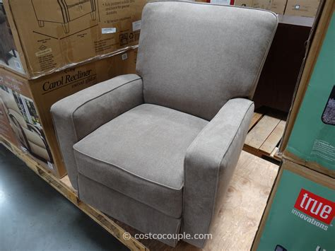 costco rocker recliner true innovations eliza swivel glider recliner