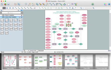 microsoft visio er diagram erd symbols and meanings
