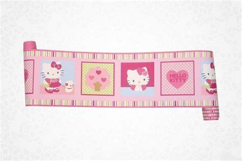 baby bedroom borders hello kitty wallpaper border