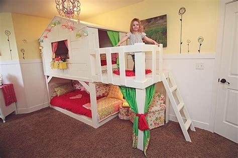 Tree House Bunk Beds 20 Awesome Ikea Hacks For Kids Beds Hative