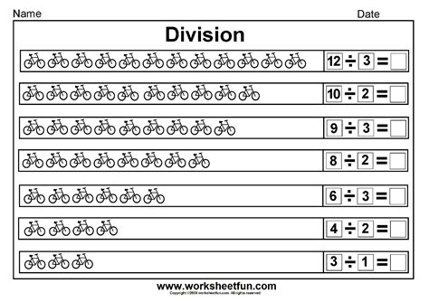 printable division worksheets for 2nd grade 2nd grade division worksheets free worksheets library