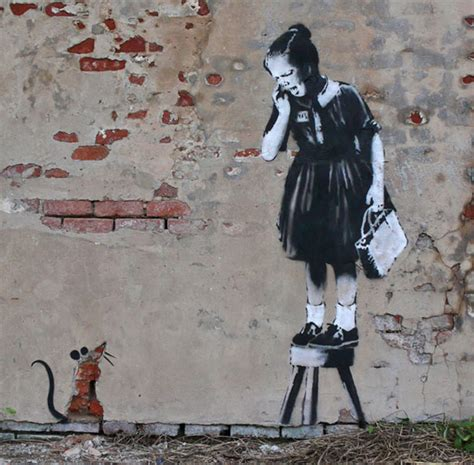 collection banksy art  wow style