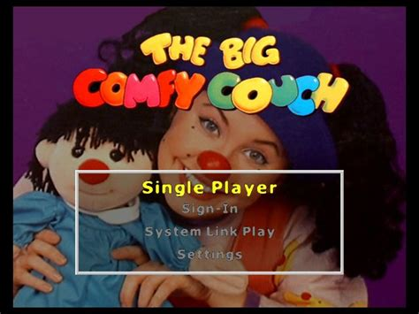 the big comfy couch games the big comfy couch xbox cancelled unseen64