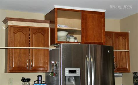 Attaching Crown Moulding Kitchen Cabinets by How To Raise Kitchen Cabinet Height Bar Cabinet