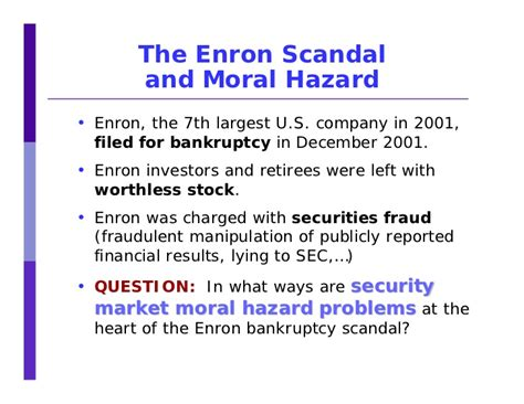 Collapse Of Enron Essay by Enron Essays