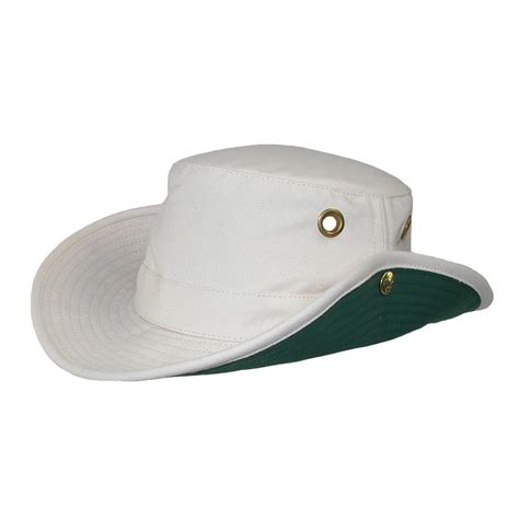 t3 cotton duck snap up brim hat by tilley safari