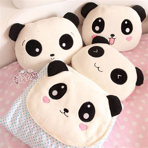 Panda Pillow by Free Shipping Kawaii Panda Cotton Air Conditioning