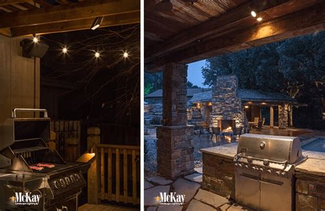 Outdoor Kitchen Lighting Outdoor Kitchen Grill Lighting Ideas