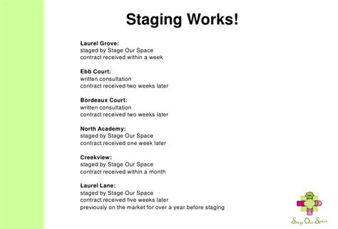 Stage Our Space Home Staging Estimate Templates