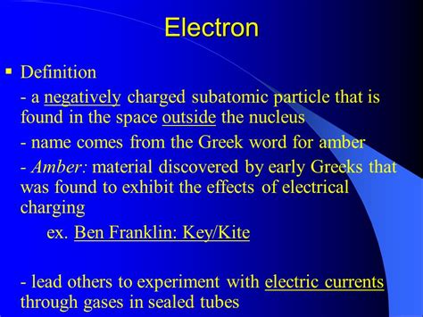 Definition Of Proton by Chapter 4 Atomic Structure Ppt