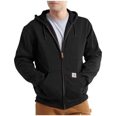 Jaket Sweater Hoodie Zipper Carhatt 6 Herocollection carhartt defender rutland thermal lined hooded zip